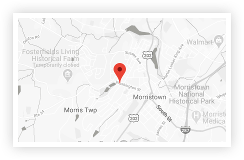 Morristown Location Map